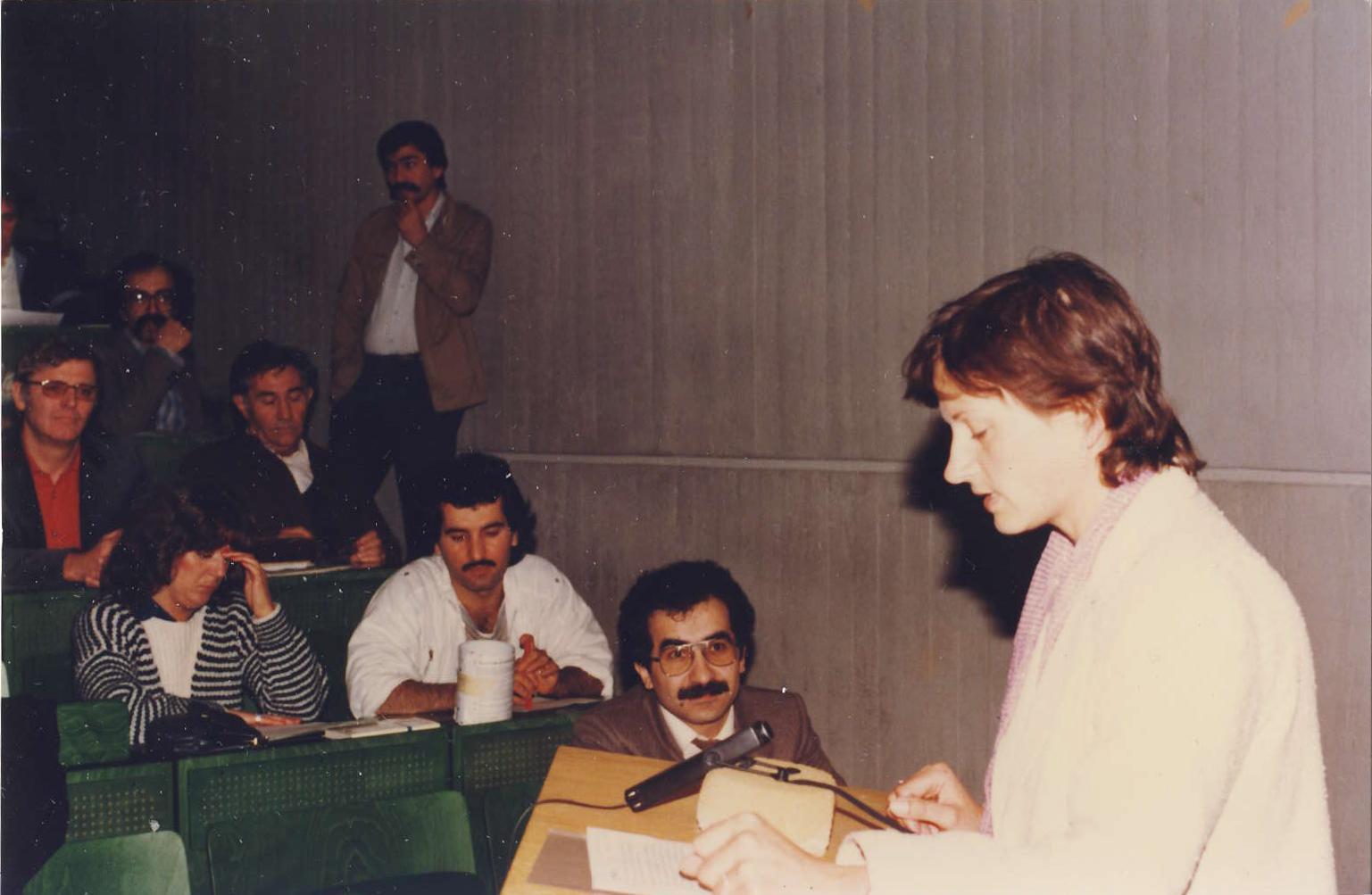 1.mezinárodní vědecká konference o Kurdech na universitě Dortmund,1984