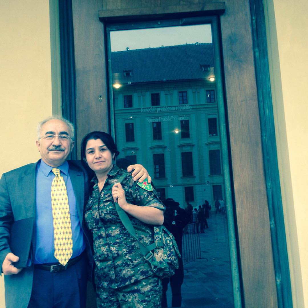 With Nesrin Abdulla