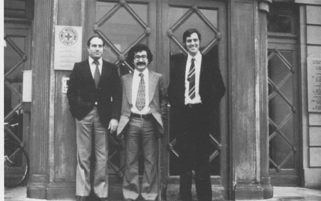 During the application of Kurdish Red Sun that Yekta Uzunoglu founded at the International Committee of the Red Cross, Geneva/ 1979