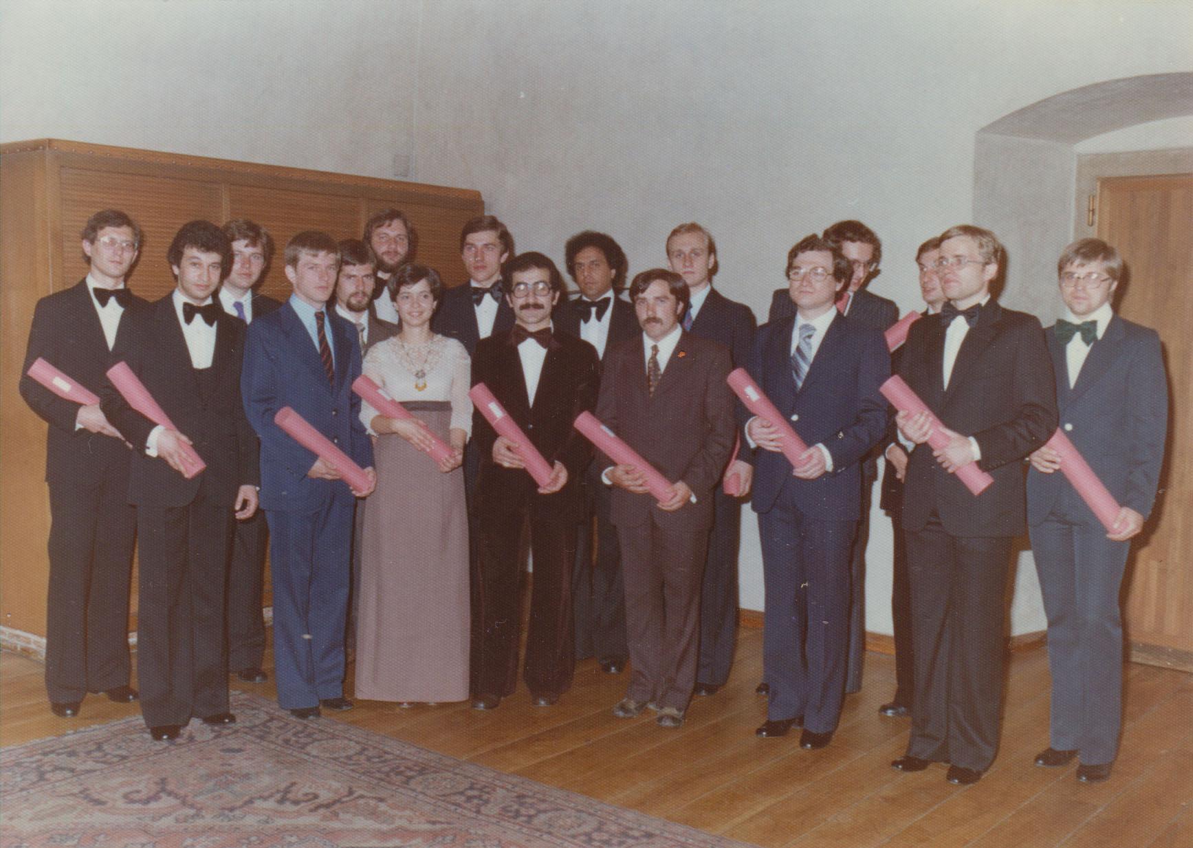 1979 - Promotce na KU
