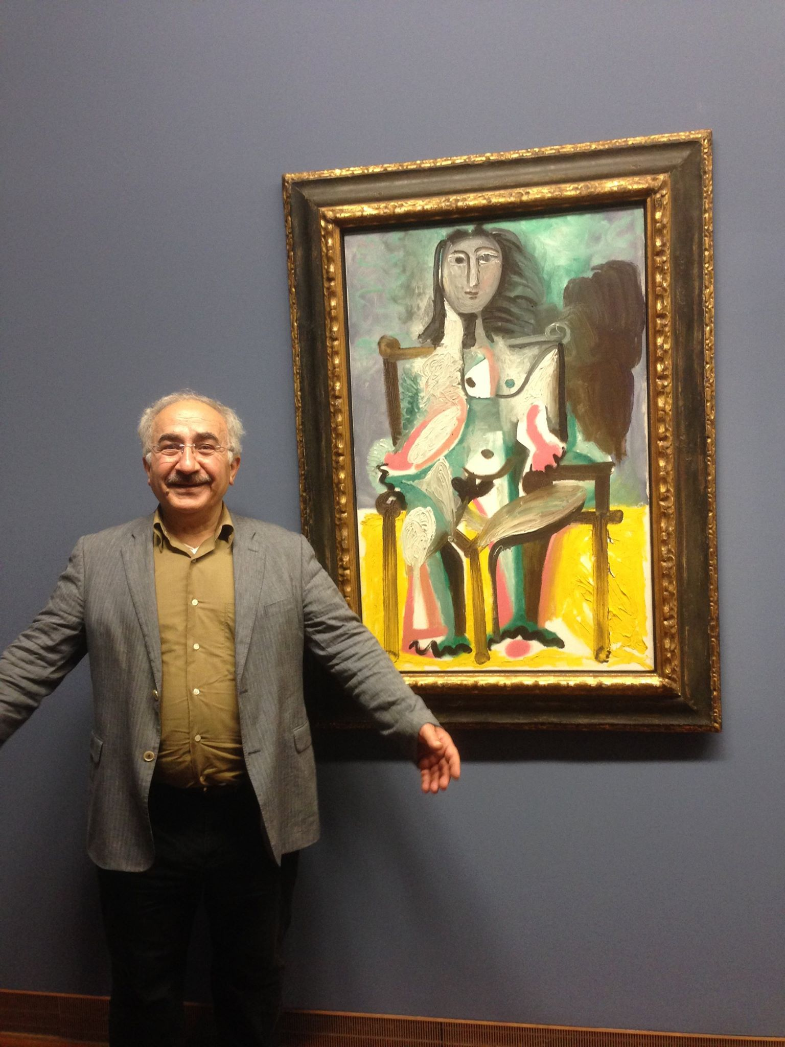 PICASSO : source of energy ,we needed before leaving to Rojava