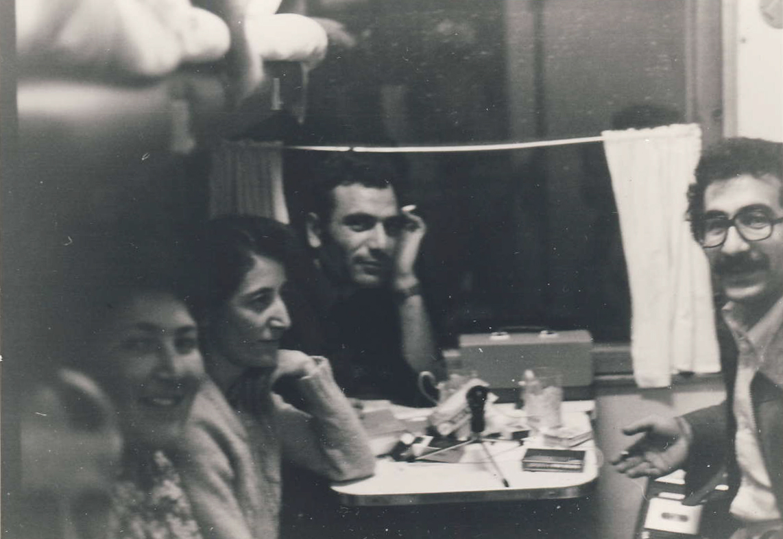 Bi trenê di rîya Erîvanê de,1979
