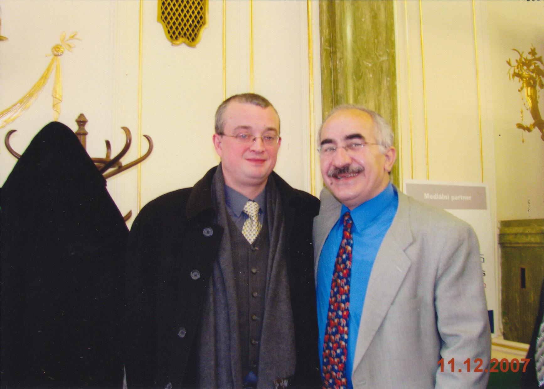 Marek Benda a já,2007