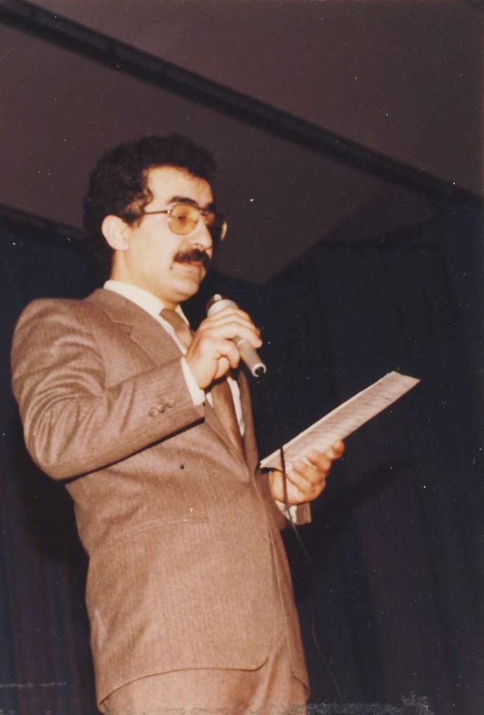 Na 1.vědecké konferenci,Dortmund,1984