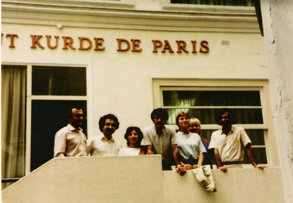 Paříž - zakládání Kurdského institutu v Paříži, 1982