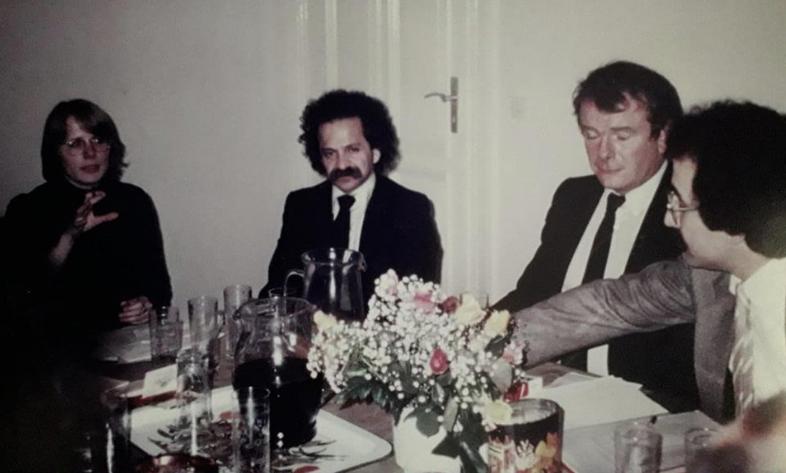 Civîna damezrandina Enstîtu ya Kurdî ya Bonnê di sala 1983: Xanima min C.Nhar,Prof.Dr.Abbas Vali, navdartrîn rojnemevanê Firansa Jean Bertolino û ez
