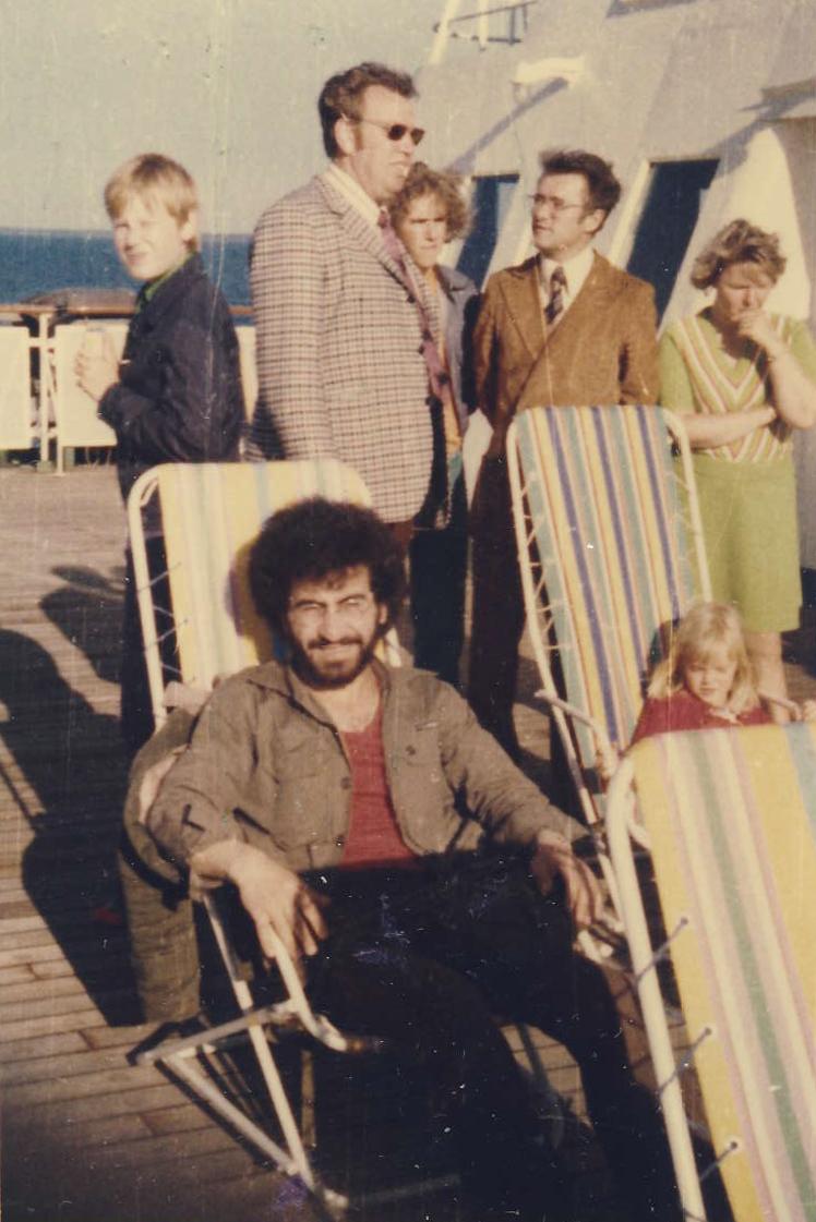 Studenstká léta,ve Švedksu-1975