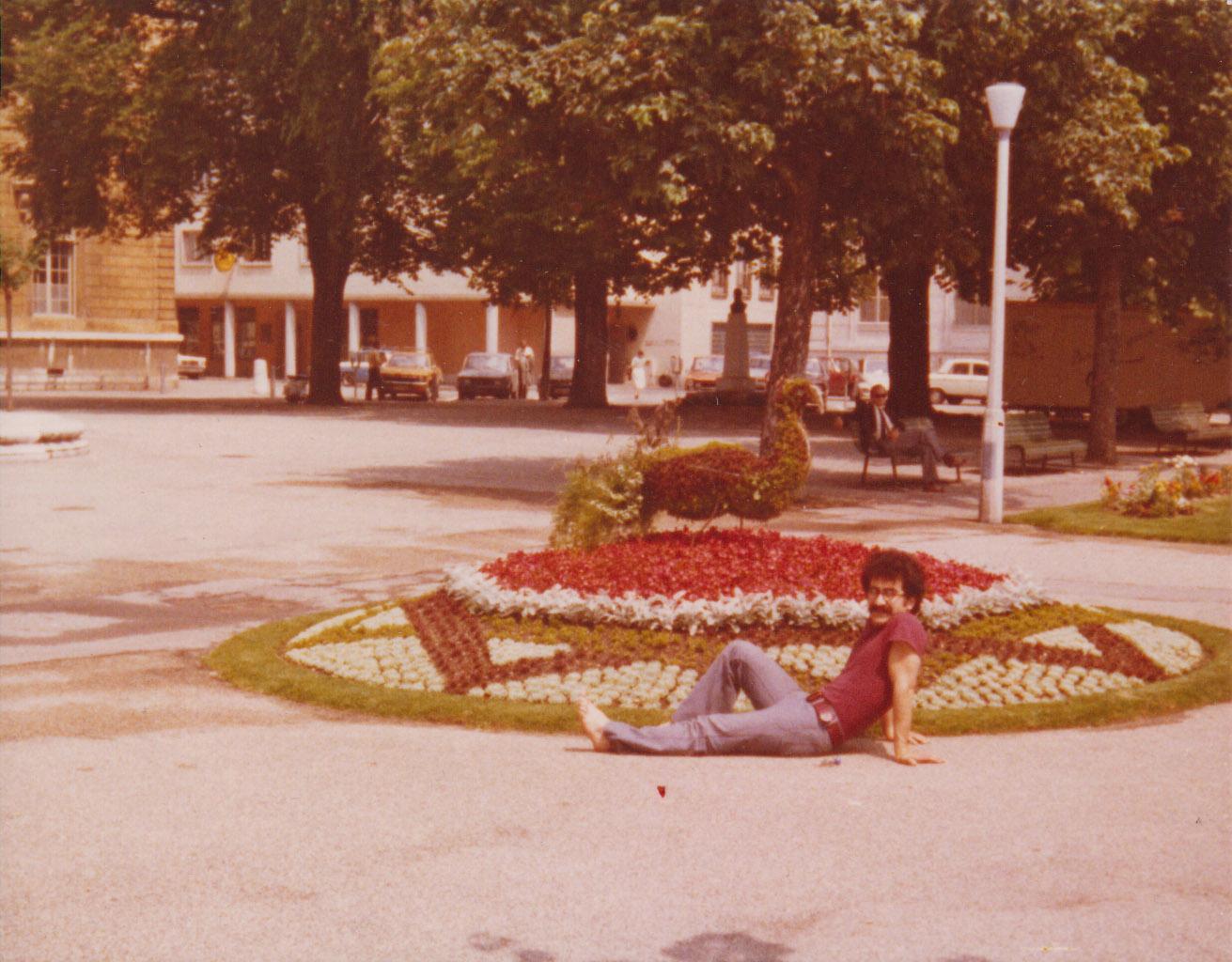 V zámku Schönbrunn 1975