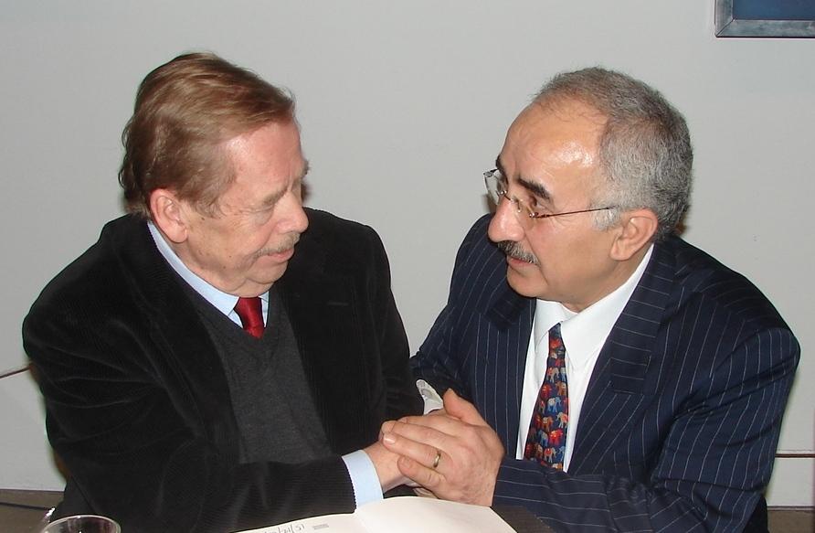 s prezidentem Václavem Havlem
