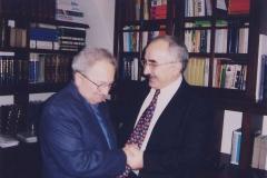 Yekta Uzunoglu with Doc.Karel JECH