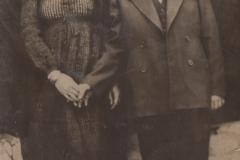 Moje máma se strýcem 1944