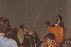 Na 1 vědecké konferenci o Kurdech na univerzitě v Dortmundu 1984