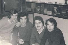 S kurdskými studenty v Praze 1975
