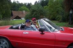 Výlet s přitelém Berhardem von Grünbergem