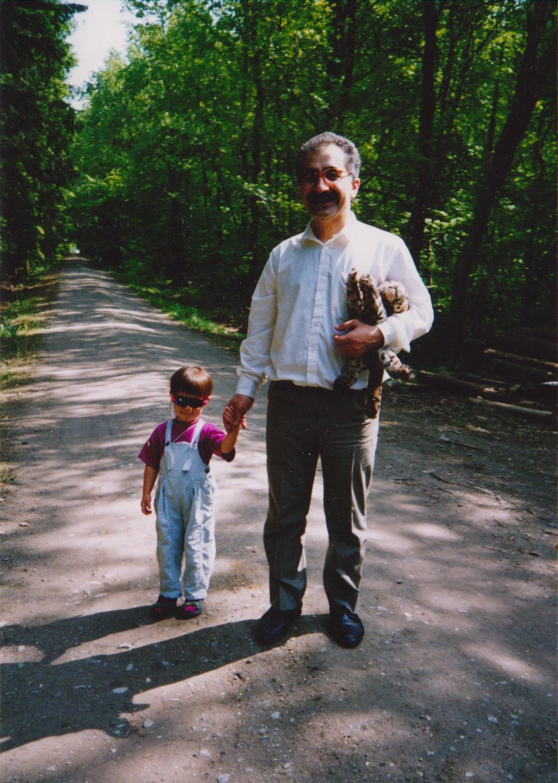 1991 - Dr.Yekta and his daughter-5