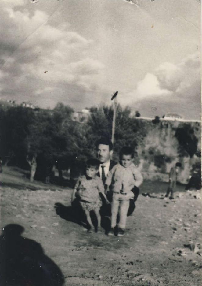 Xalê min Faxrî, muftîyê Dersimê bi du zarûkên xwe re 1962