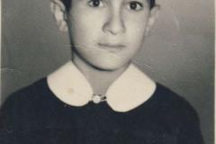 Na základní škole,1960