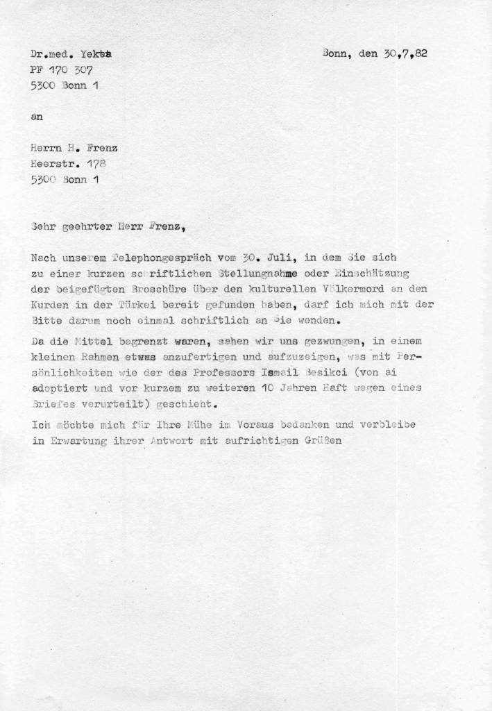 30-07-1982 - Helmut Frenz ( amnesty international ) und Dr