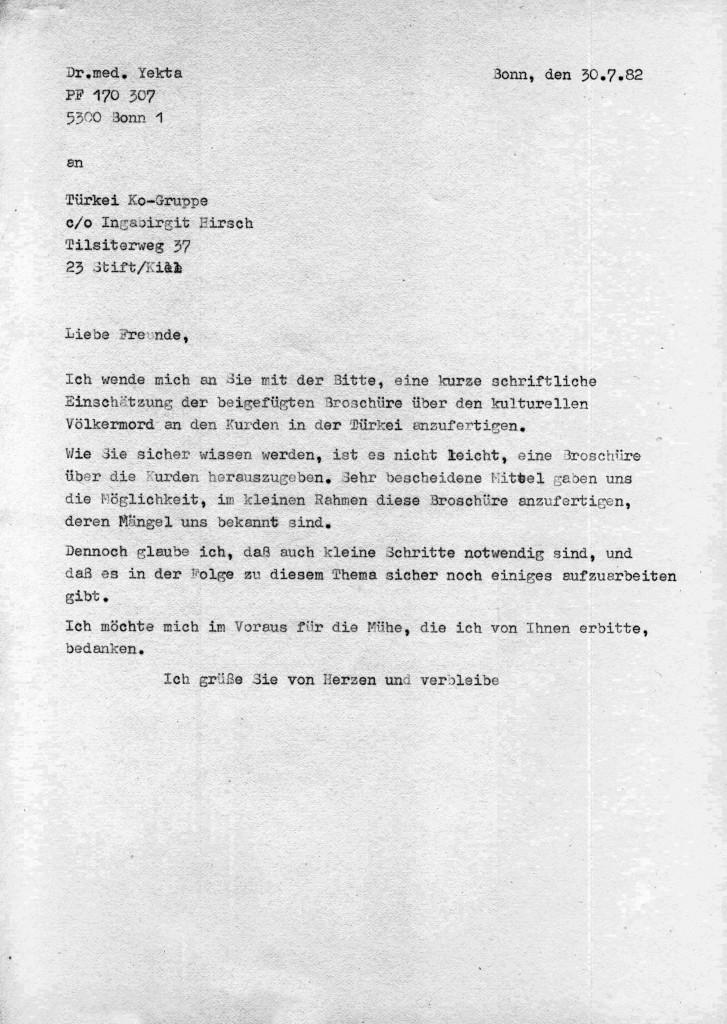 30-07-1982 - Türkei Ko-Gruppe und Dr