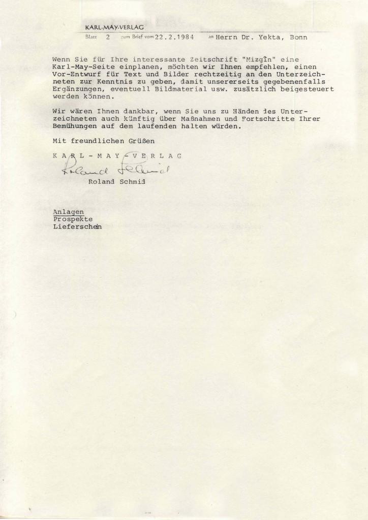 zusammenarbeit zwischen Karl-May-Verlag und KI - II