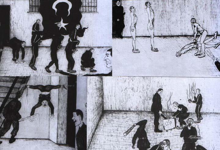Folter der Kurden in Gefängnis in der kurdischen Stadt Diyarbakır