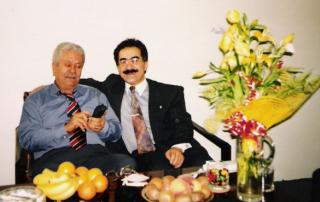 S pane İsmetem Sezginem v Praze, cca 2 týdny před mým protiprávním zadřením v roce 1994 úřadem plk. Václava Kučery