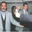 """""""Hodni chlapci"""" Mehmeta Agara : Šéf speciálních policejních jednotek Ibrahim Sahin s nejhledanějším teroristou Abudllah Catlı při tanci"""