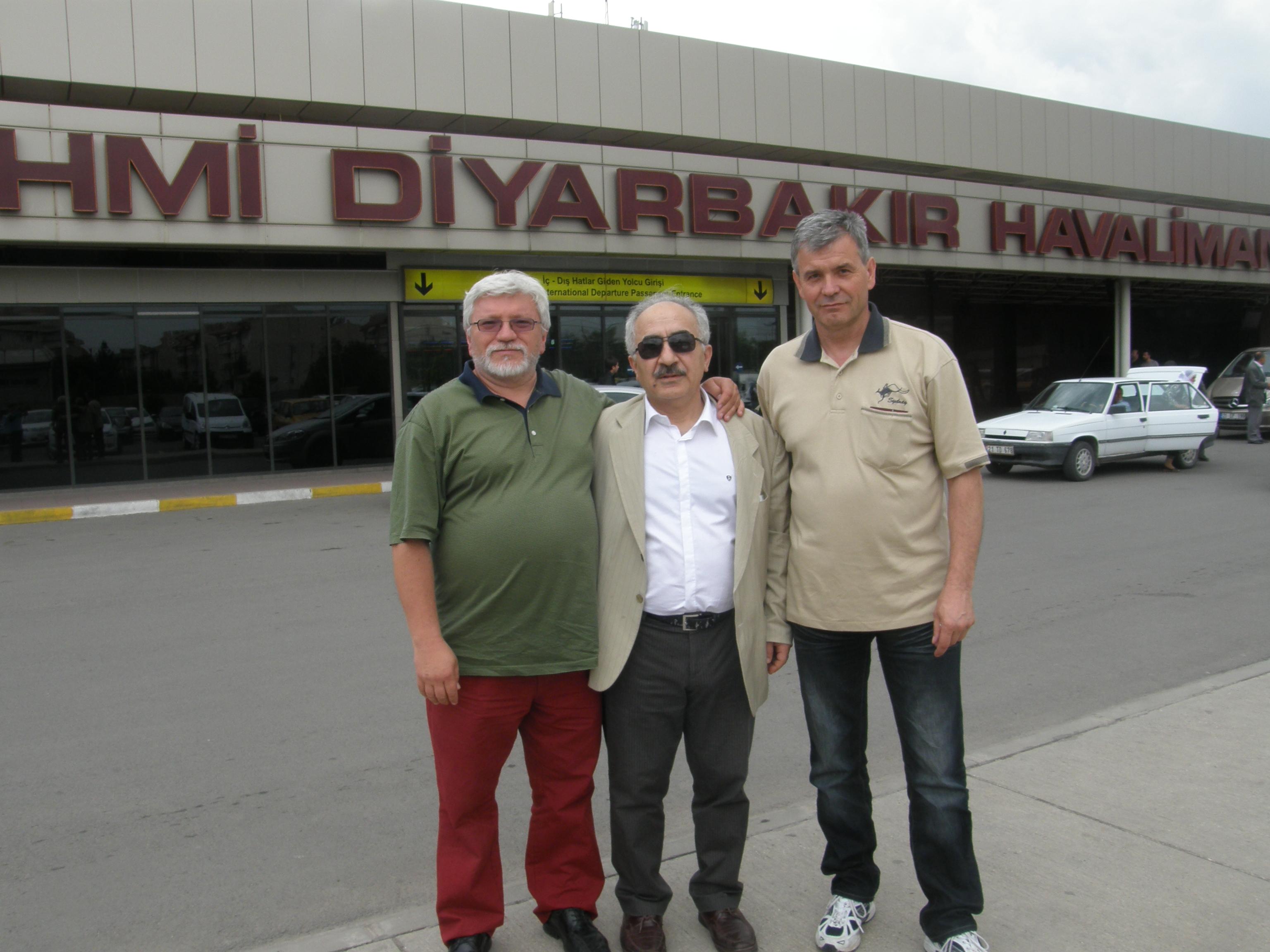 with Prof.Dr.Pavel Martásek and Vladimír Kořenský, Turkey, 2012