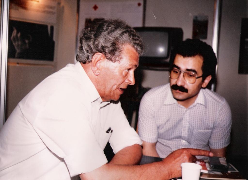 Hoeffkes-místopředseda poslaneckého klubu CSU v Bundestágu, SRN, YU-1984