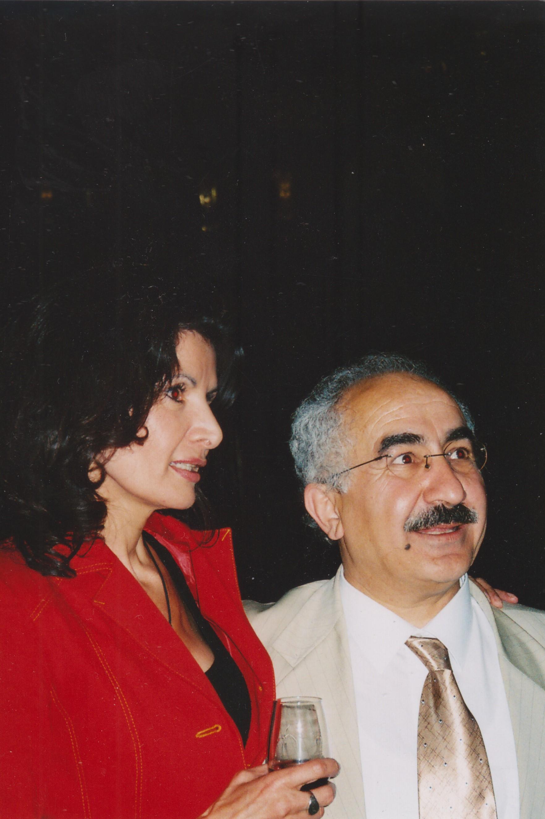 With Mina Khasemlu - 2006
