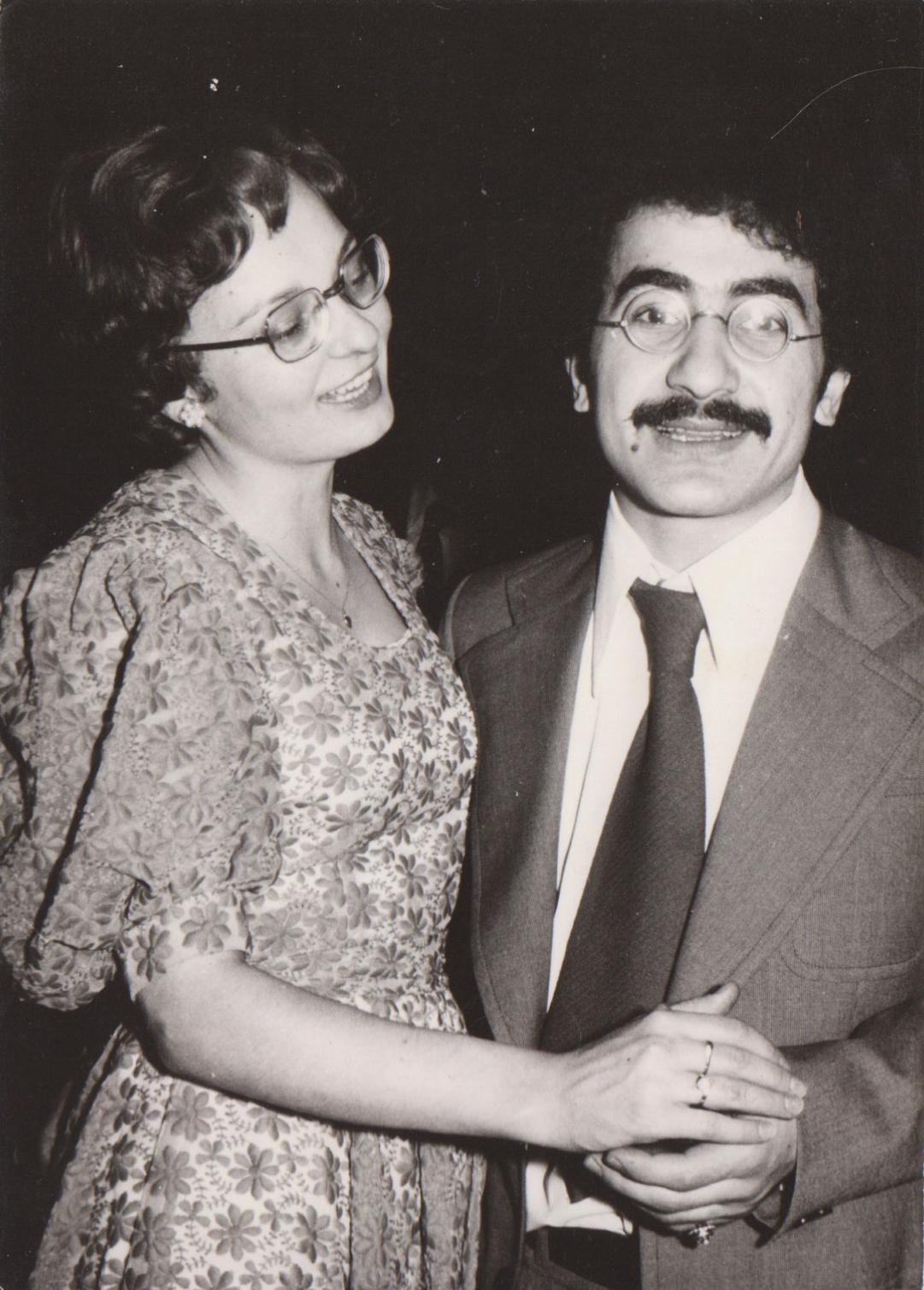 Na plesu mediků 1975