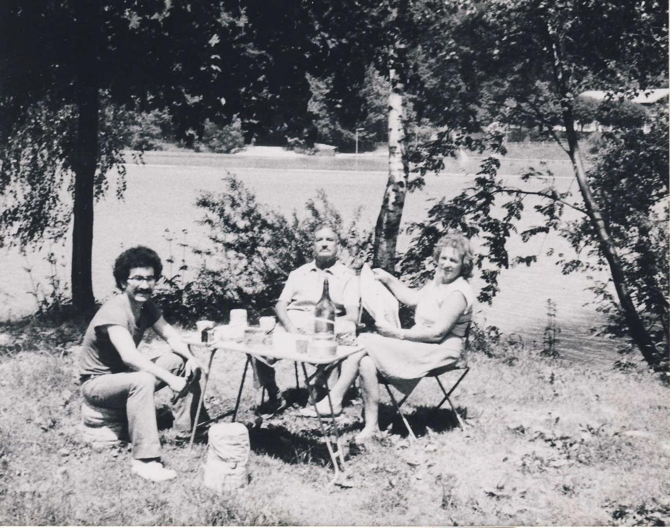 Prazdiniy ve Švýcarsku 1974