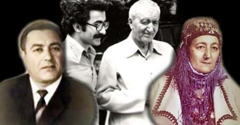 Xelîlê Çaçan,Yekta Uzunoglu, prof.Hecîyê Cindî, Eznîva Reşîd ( 1979)