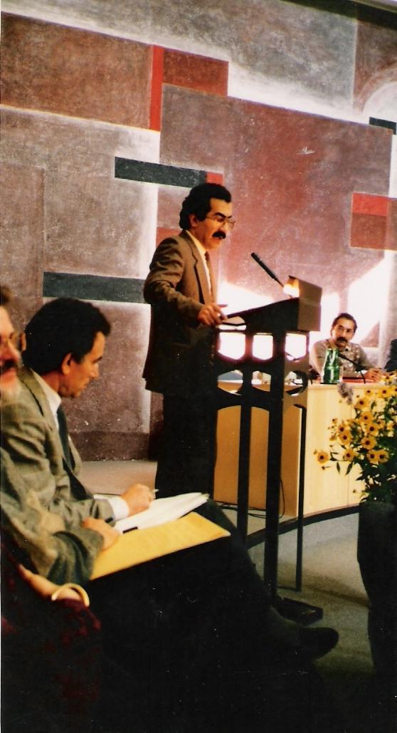 YU, jako přednášející na akademii Tuzingen, SRN 1987