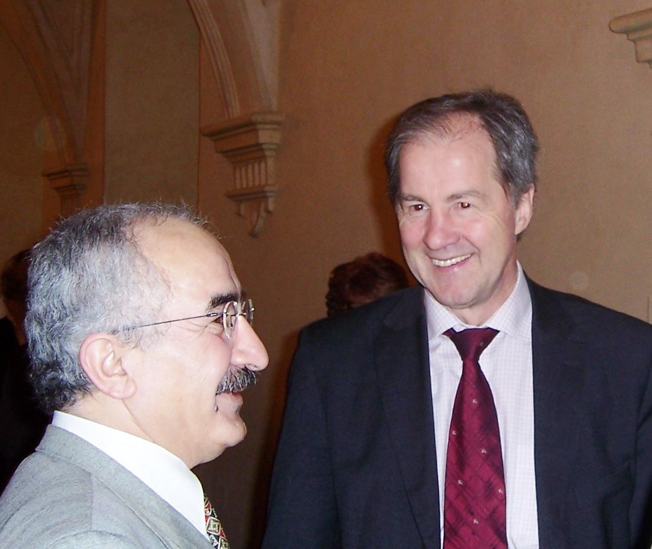 s Jo Leinenem, předsedou ústavního výboru Evropského parlametu