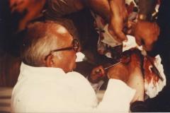 Polní operace s prof.Ballem v Iranánu -1980