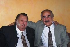 Nebožtík František Oldřich XI. kníže Kinský a ja v roce 2006 v Praze