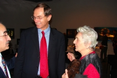 Jan Švejnar and Dr.Libuše Šilhánová