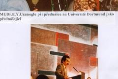 An die Universitat in Dortmun als Vortagende