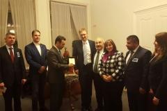Kurdish parliamentary delegation in Prague