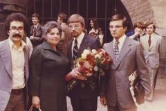 Na promoci svého přitele,dne Prof.MUDr.Pavel Martásek,DrCs.-1978