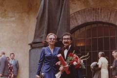 Promoce na UK s matkou mého syna ,1979