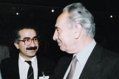 Simon Peres-Dr.Yekta Uzunoglu - 1991