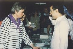 Stan kurdského Institutu na mezinárodních dnech protestantcké crkvi,Frankfurt 1986