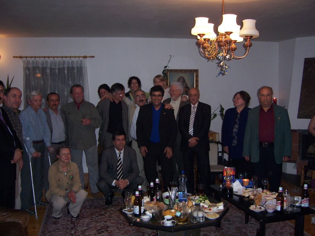 vedení českého a kurdského PEN-klubu v sídle dr.Uzunoglu