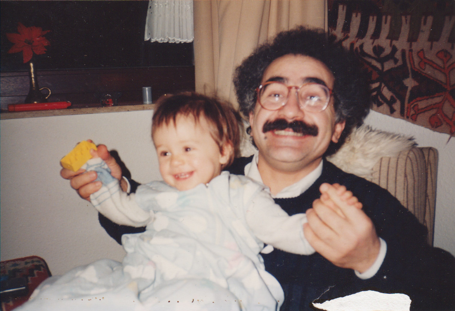 S dcerou Lucia, 1989