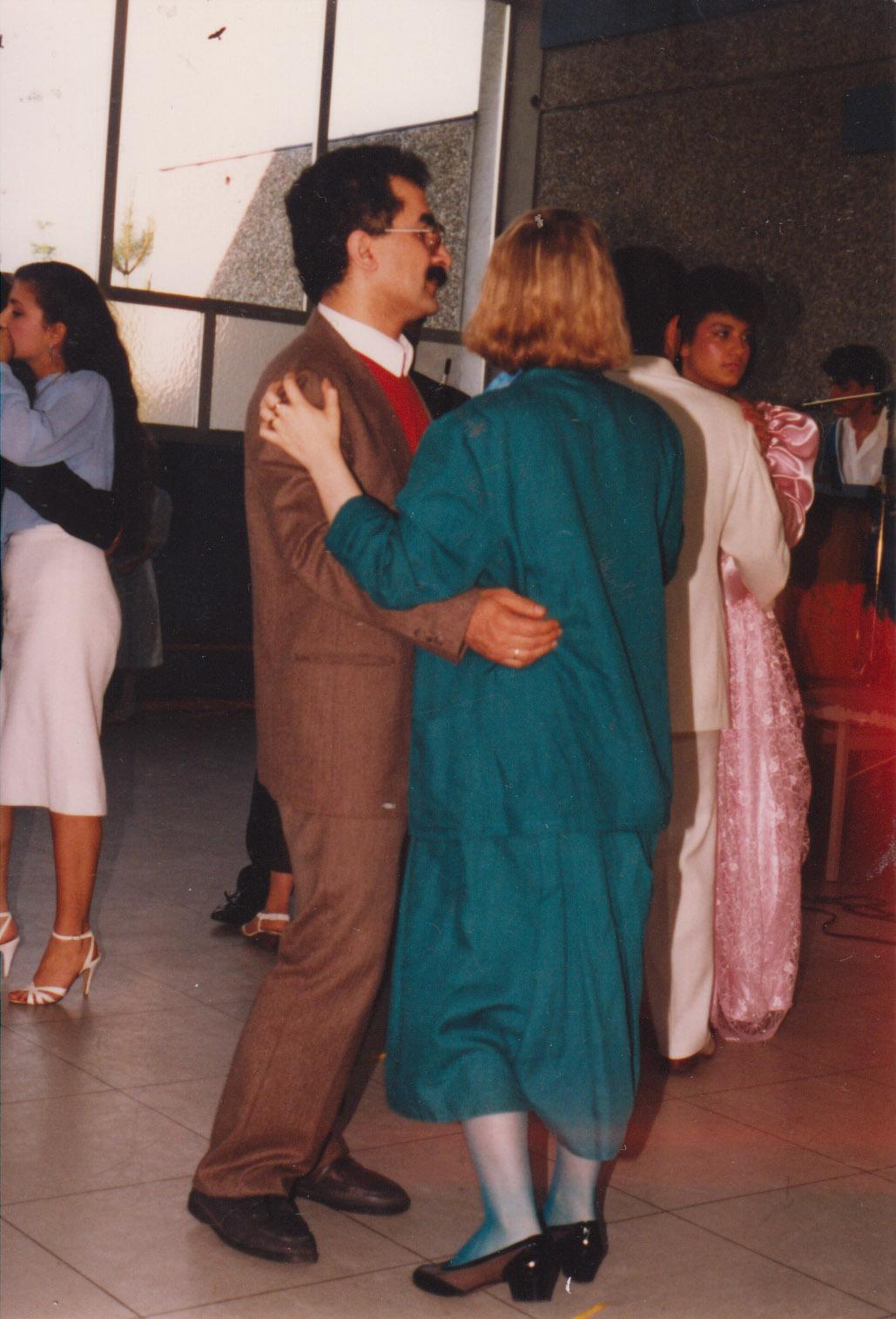 Se svou manželkou Ursula (1987)