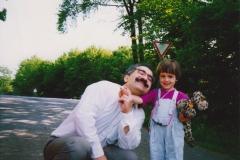 1991 - Dr.Yekta and his daughter-2