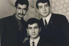 Brayê min Erdinç û hevalê wî Cewdet re,1968