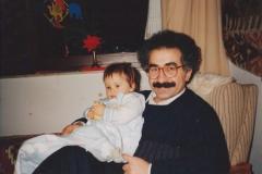 Se svou dcerou Lucia Zilhan (1990) - Bi keça xwe Lucia Zilhan re